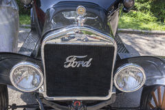 Old timer cars rally Royalty Free Stock Image