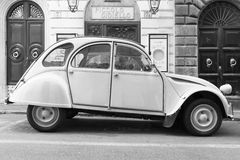 Old-timer Citroen 2cv6 Special car Royalty Free Stock Photography