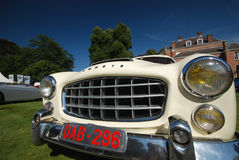 Old timer comete. WIJNEGEM, BELGIUM  SEPTEMBER 09: Antwerp Concours d'Elegance is a high-level classic car event, presenting rare and exotic sports- and Royalty Free Stock Image