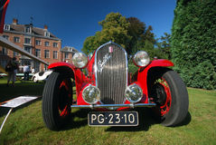 Old timer Fiat. WIJNEGEM, BELGIUM SEPTEMBER 09: Antwerp Concours d'Elegance is a high-level classic car event, presenting rare and exotic sports- and luxurycars Stock Image
