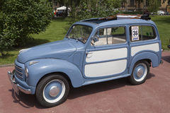 Old timer Fiat car Royalty Free Stock Photos