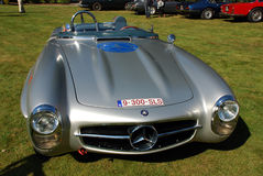 Old timer mercedes 300 sls Stock Photography