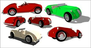 Old timer, various concepts. royalty free stock photo