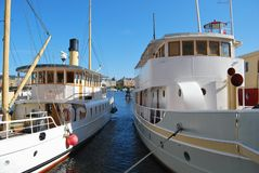 Old-timer Ships Royalty Free Stock Photos