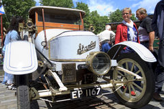 Old timer steam car on display Stock Photos