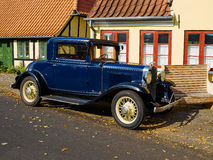 Old timer vintage car in classic style Stock Images