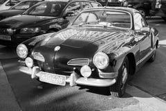 Old-timer Volkswagen Karmann Ghia, monochrome Stock Images