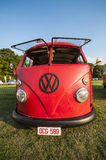 Old-timer VW bus Stock Photo