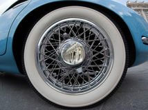 Old-timer wheel Royalty Free Stock Photo