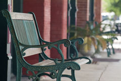 Old Times Bench Royalty Free Stock Photography