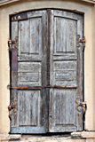 Old timeworn doors. Royalty Free Stock Photos