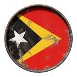Old Timor-Leste flag Stock Photo