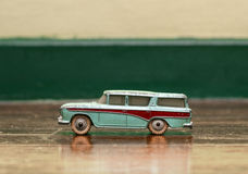 Old tin car Royalty Free Stock Images