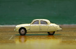 Old tin car Royalty Free Stock Photo