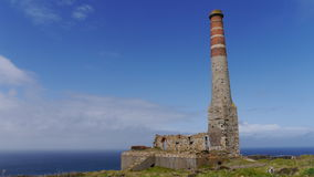 Old tin mine workings in Cornwall Royalty Free Stock Photos