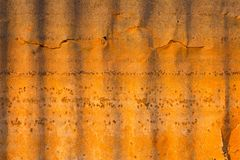 Old Tin Roof. Royalty Free Stock Photography