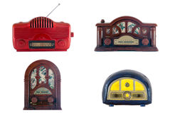 Old tiny radios Stock Image