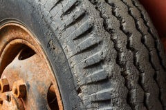 Old tire Stock Image