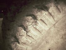 Old tire Royalty Free Stock Photos