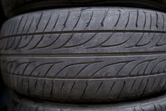 Old Tire Royalty Free Stock Photography