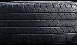 Old tire tread as background Royalty Free Stock Photos