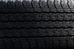 Old tire tread as background Royalty Free Stock Photo