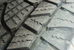 The old tire tread royalty free stock photo