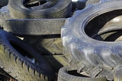 Old tires Stock Photos