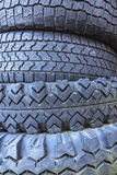 Old tires as background.closeup Stock Photo