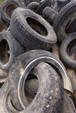 Old tires background Royalty Free Stock Photography