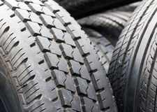 Old tires Royalty Free Stock Photos