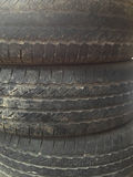 Old Tires Texture Stock Images