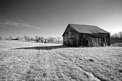 Old Tobacco Barn #2 Royalty Free Stock Photo