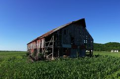 Old tobacco barn. In Western Missouri Royalty Free Stock Images