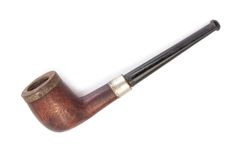 Old tobacco pipe Stock Images