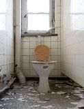 Old toilet Royalty Free Stock Image