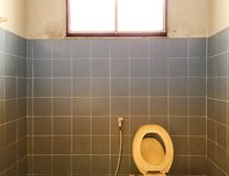 Old Toilet with the light Stock Photos