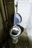 Old toilet Royalty Free Stock Images