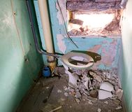 Old toilet Stock Image