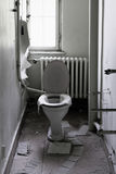 Old toilet room Royalty Free Stock Image