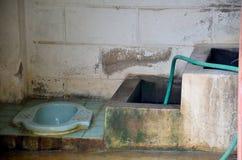 Old toilet thai style Stock Photos