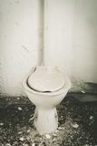 Old toilet Royalty Free Stock Photo