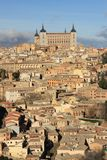 Old Toledo town, former capital of Spain. Stock Photos