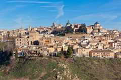 Old Toledo town, Spain Royalty Free Stock Image