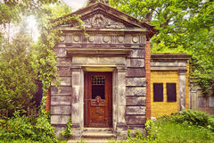 Tomb in beautiful nature Royalty Free Stock Image