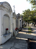 Old Tombs. Original Garden District Tombs in Lafayette Cemetary Royalty Free Stock Photos