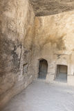 Old tombs in Kyrenia royalty free stock image