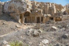 Old tombs in Kyrenia royalty free stock photos