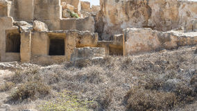 Old tombs in Kyrenia Stock Photos