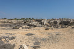 Old tombs in Kyrenia royalty free stock photography